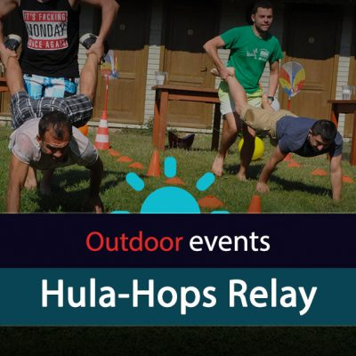 Hula-Hops Relay
